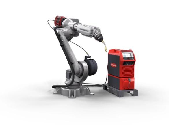 Saldatura robotizzata Mig-Mag Push