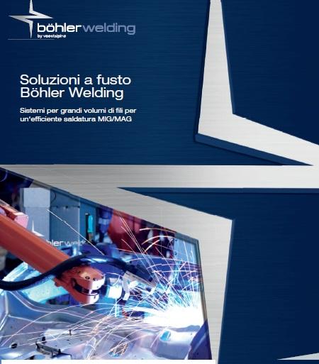 Bohler welding cataloghi fusti