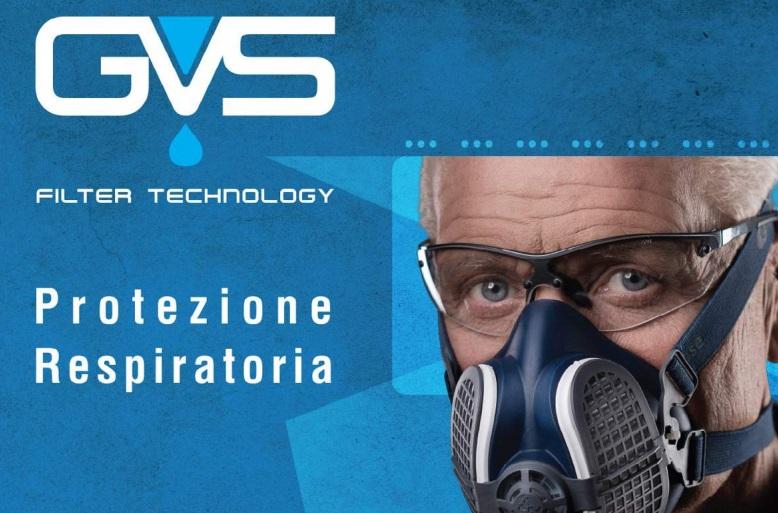 GVS catalogo protezioni respiratorie