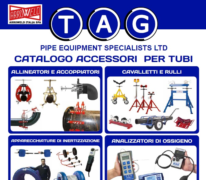 Tag Pipe catalogo accessori