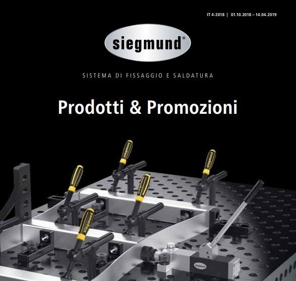 Volantino Prodotti e promozioni Siegmund 2018