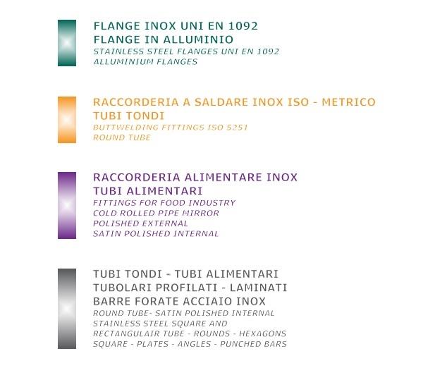 catalogo acciaio Inox Tecnica