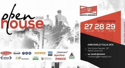 Open House Arroweld Italia torna a settembre 2018!