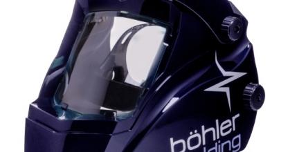 La maschera a cristalli liquidi Guardian 62 – Bohler Welding