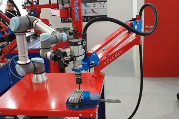 Maschiatrice robotizzata Volumec