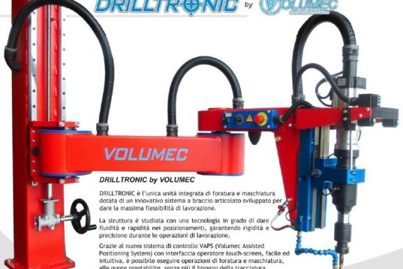 Volumec – catalogo Drilltronic 2018
