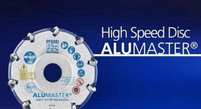 PFERD – Disco ad alta velocità ALUMASTER