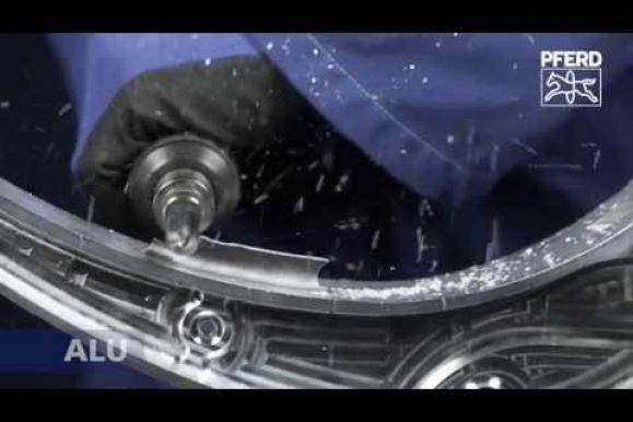 PFERD – frese in carburo di tungsteno in SlowMotion 1000 FPS