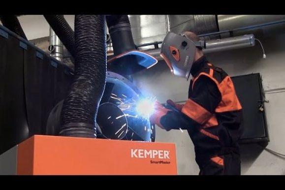 Kemper SmartMaster unità di estrazione fumo saldatura