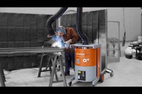 KEMPER MaxiFil unità di estrazione fumi di saldatura