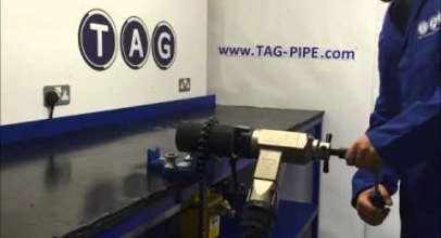 Tag Pipe video: TAG preparazione Smerigliatrice