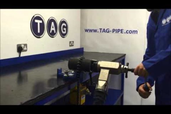 Tag Pipe video: TAG preparazione Smerigliatrice