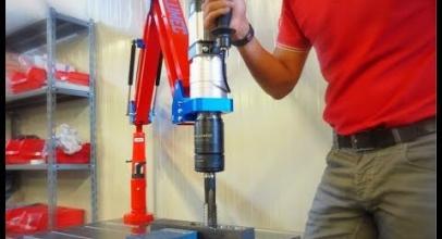 Volumec video: macchina da maschiatura elettrica JT3750M