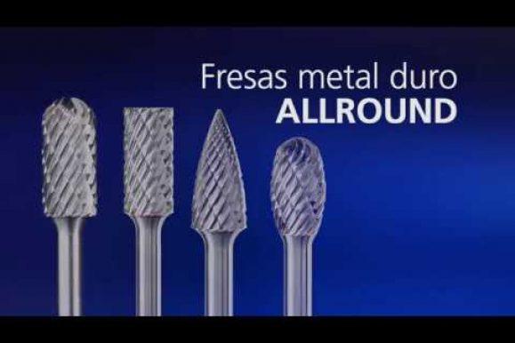 PFERD – Frese di metallo duro ALLROUND